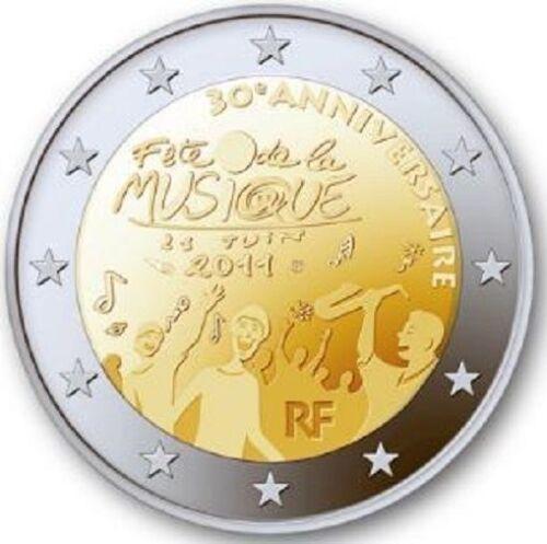 France 2 euro 2011 Festival Music Fete 30 years Bimetal UNC