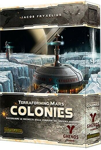 Colonies, Expansion for When the bough breaks Mars, by Ghenos, Italian Edition