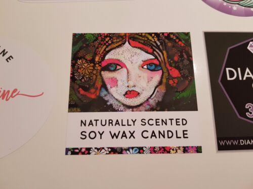 10 x A4 White VINYL Inkjet Printable MATTE Self Adhesive Sticker Sheets