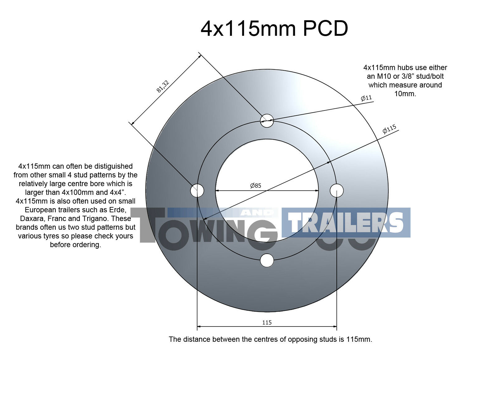 Replacement Spare 500 10 Wheel And Tyre For Erde 142 Trailer Wiring Diagram Ifor Williams Free Download Norton Secured Powered By Verisign