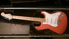 1996 Hank Marvin 50th Anniversary Signature Japanese Stratocaster in Fiesta Red