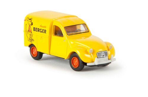 Brekina 14188-1//87 citroen 2 CV kastenente-berger nuevo f