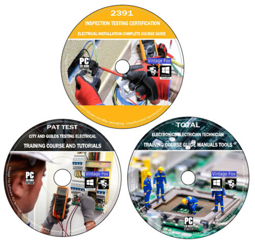 PAT Testing City /& Guilds 2377 2931 Electrical /& Electronics cours complet