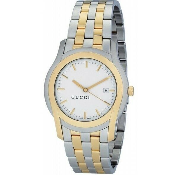 230b524b657 Gucci 5505 Gold-tone Stainless Mens Watch YA055214 for sale online ...
