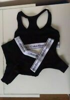 Ladies Calvin Klein Sports Bra, Thong and Brief 3pcs Set With Tag & Gift Box