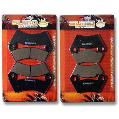 2010 2011 2012 2013 2014 Polaris 800 Ranger Crew Rear Brake Rotors /& Brake Pads