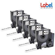 5 Pk Refill Replace Dymo D1 45013 S0720530 Labelmanager Pnp 260p 160 Label Maker