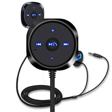Bluetooth Wireless Car Kit AUX Audiomusik Empfänger 3.5mm adapter Handsfree #G