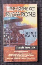 1961 THE GUNS OF NAVARONE Alistair MacLean VG+ 4th Fontana UK 332 Gregory Peck