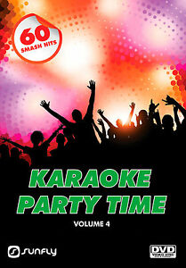 PARTY-TIME-VOL-4-SUNFLY-KARAOKE-DVD-60-HIT-SONGS