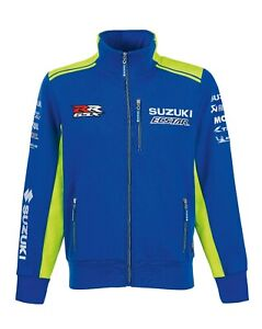 Suzuki-Moto-GP-Team-2019-Track-Top-Blue-Ecstar-GSX-R-Mens-Jacket-NEW-990F0-M9MTT