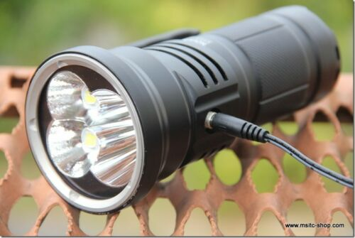 Niwalker Nova MM18III Rechargeable LED Flashlight-12,000 Lumens 800m throw