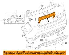 OEM GM Rear Bumper Impact Bar 12-16 Chevrolet Sonic 42391714
