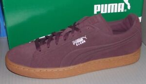 a981b4372f41 Image is loading MENS-PUMA-SUEDE-EMBOSS-in-colors-WINETASTING-SILVER-