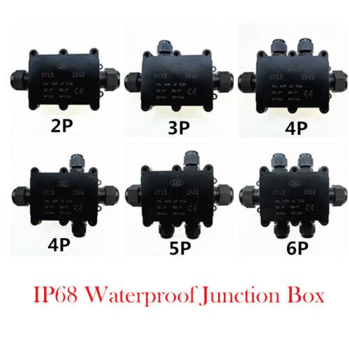Estuche Impermeable Caja de conexiones eléctrico conector del cable subterráneo de IP68 para aire libre