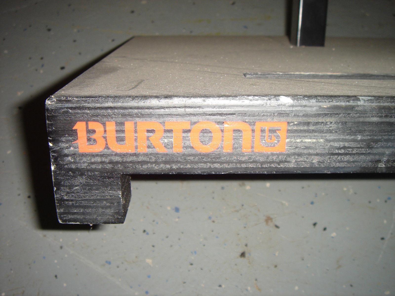 Burton snowboards board display pedestal   a lot of concessions