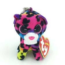 """Ty Beanie Boos Dotty Multicolor Leopard 3.2"""" Stuffed Animals Toys Child Gift"""
