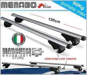 barre portatutto portapacchi mazda 6 sw 2008>2013 rails e chiave