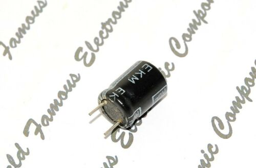 EKM 47uF Roederstein 2pcs 50V Radial Capacitor // Kondensatoren 47µF ROE