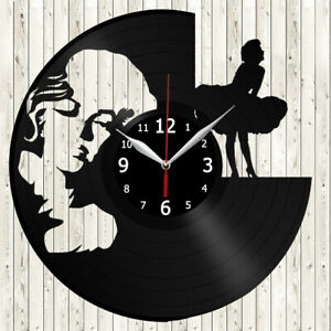 Marilyn Monroe Vinyl Record Wall Clock Art Decor Original Gift 12/'/' 30cm 2621