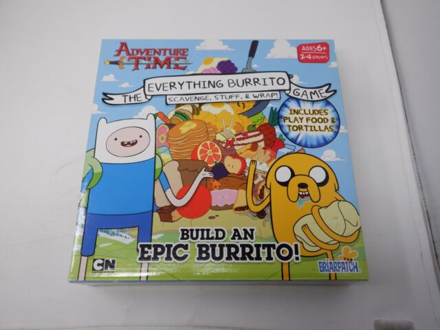 Adventure Time Everything Burrito Game Briarpatch Sealed New  GM4287