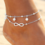 Gold-Silver-Ankle-Bracelet-Women-Anklet-Adjustable-Chain-Foot-Beach-Jewelry thumbnail 8