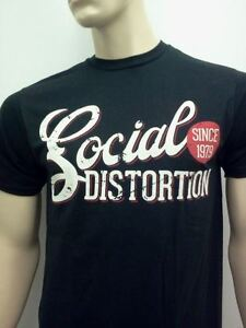 SOCIAL-DISTORTION-Mens-Rare-Band-T-SHIRT-New-Free-Shipping-Size-SM-MED-LG-XL-2X
