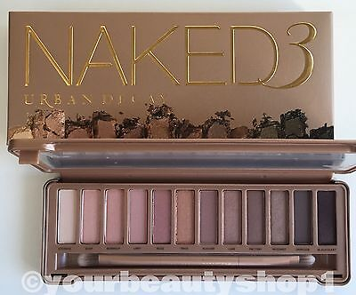 Brand New URBAN DECAY NAKED 3 Palette Eye Shadow 100%Authentic Priority Shipping