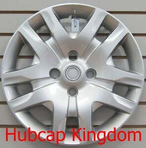 NEW-16-034-Silver-Bolt-On-Hubcap-Wheelcover-that-FITS-2010-2012-NISSAN-SENTRA
