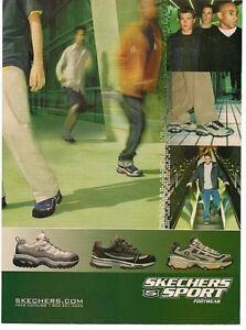 Volar cometa Aclarar sufrimiento  2000 Magazine Advertisement Page Skechers Sport Footwear Shoes Shoe  Sketchers Ad | eBay