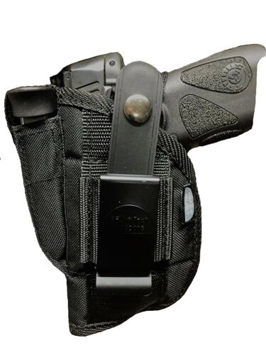 Pro-Tech Nylon Belt Gun Holster fit Taurus Millenium G2 PT111 /& PT140 With Laser