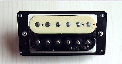 1 Pcs Wilkinson 'Zebra' Electric Guitar Humbucker - Bridge Humbucker Pickup