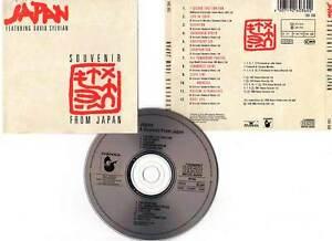 JAPAN-034-Souvenir-From-Japan-034-CD-Featuring-David-Sylvian-1989