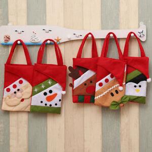 1Pcs-Christmas-Santa-Claus-Snowman-Elk-Candy-Bag-Pouch-Xmas-Gift-Tree-Ornament