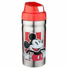 Zak!! Disney Mickey Mouse Stainless Steel Insulated Metal 12oz Tumbler Bottle