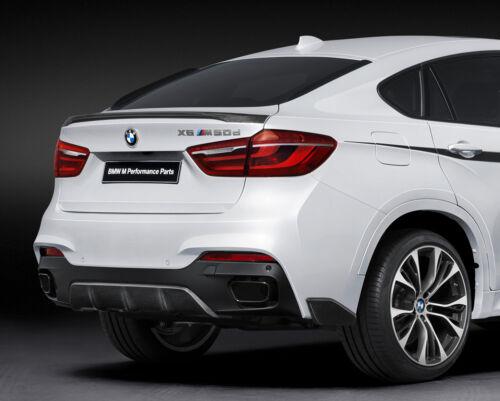 BMW F16 X6 2014-ON REAR BOOT LIP TRUNK SPOILER M2 PERFORMANCE AERO STYLING Y3300