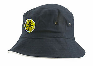 7f5f8cc64fc The Stone Roses  Reni  Embroidered Lemon Slice Bucket Festival Hat ...