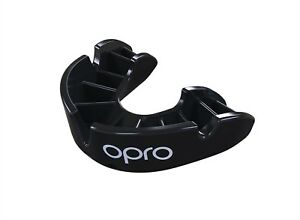 to adult red mma rugby hockey boxing etc Opro self fit mouthguard Bronze 10
