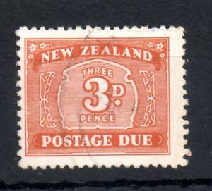 New-Zealand-1939-3d-Postage-Due-D44-fine-used-WS11032