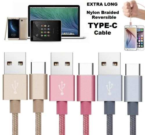 LG G5 USB 3.1 Type C Fast Data Charge Cable Nexus 5X 6P HTC10 OnePlus2 Pixel