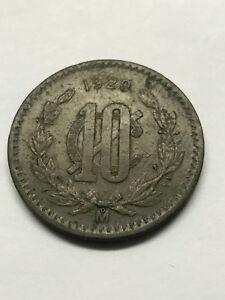 1920-Mo-Mexico-10-Centavos-VF-14887
