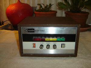 gibson maestro sound system mrk 3 rhythm drum machine vintage for repair ebay. Black Bedroom Furniture Sets. Home Design Ideas