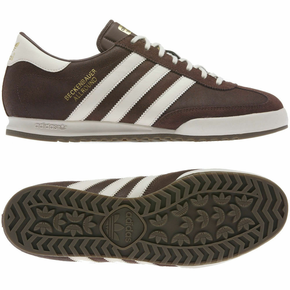 Adidas Orignals Mens Beckenbauer Trainers Brown Retro Casual sizes 7-12 G96480