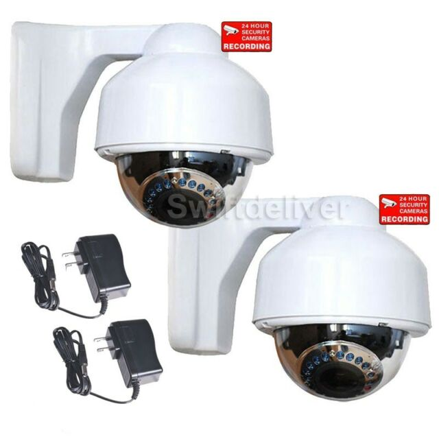 Security Camera Dome Outdoor IR Day Night Varifocal Lens Home Surveillance BZ2