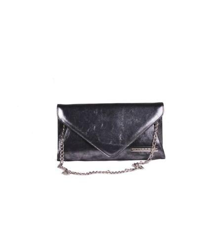 Dames glanzend zwart clutch tas Victoria PYwqAOvq