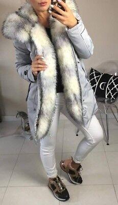 AMAZING K.ZELL 2019//20 LADIES KHAKI TRIM WINTER PARKA JACKET COAT SIZE S SIZE 8