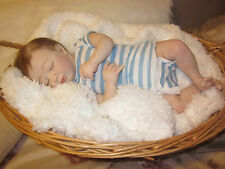 """SALE"" Life Like Newborn Reborn Realborn LOGAN ASLEEP Baby Doll"