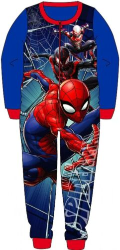 5yrs Gift MARVEL Boys SPIDERMAN all in one pyjamas 18mths sleepsuit
