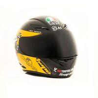 AGV K3 GUY MARTIN HELMET BLACK YELLOW TT MOTORCYCLE HELMET