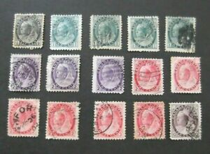 Canada-1898-Used-issues